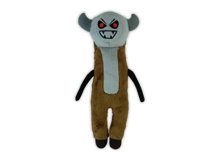 Gman Dman plush creature with fangs