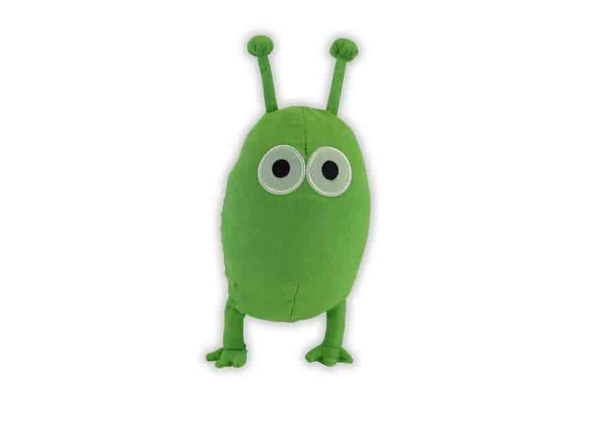 Alien plush green alien