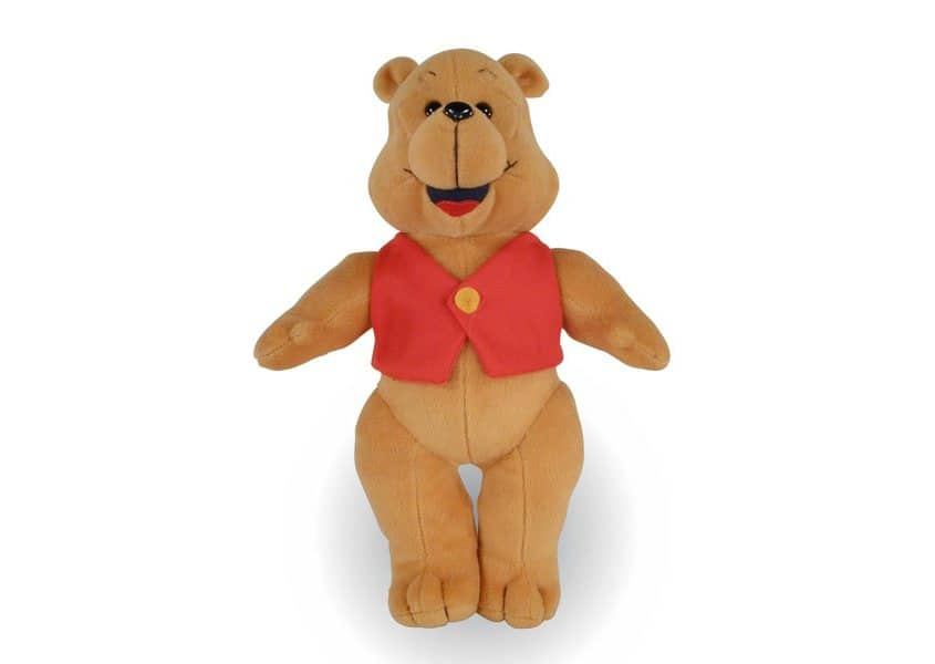 Benjamin Bear teddy with red vest