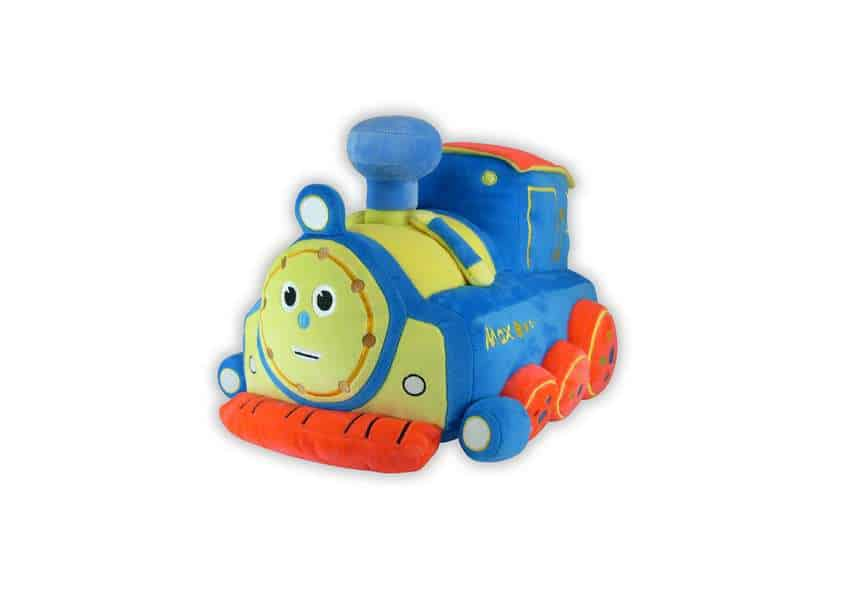 Max cartoon train plush