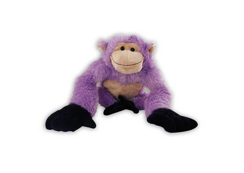Purple gorilla plush