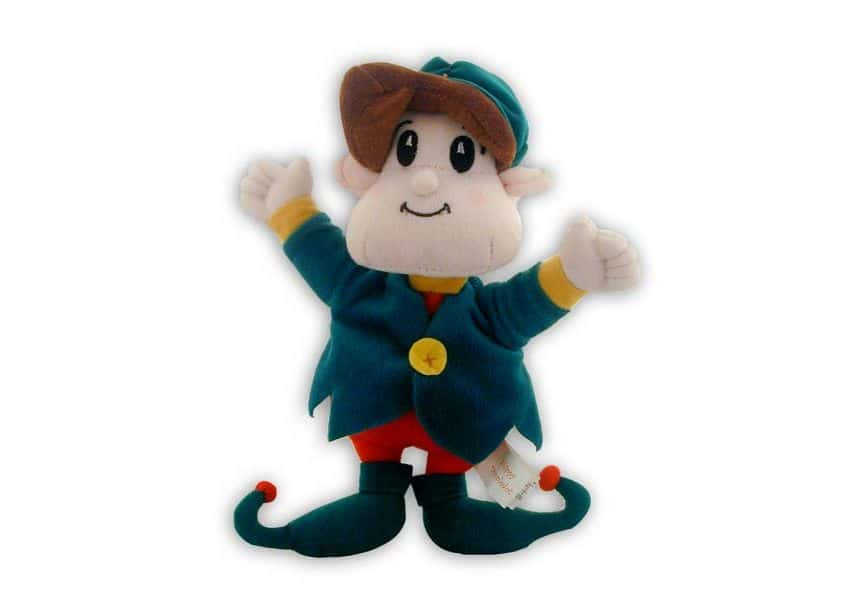 Skippy Christmas elf plush