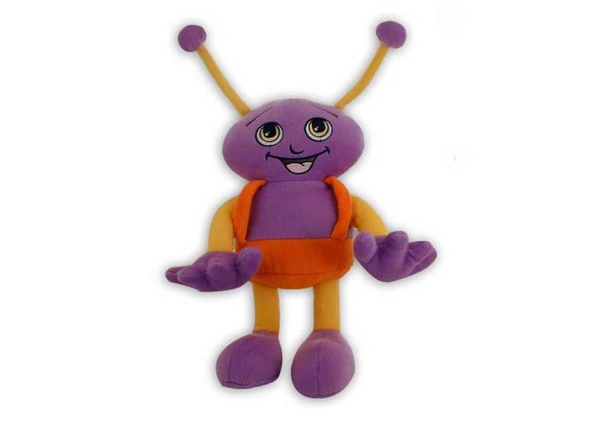 Star buddy purple alien plush toy