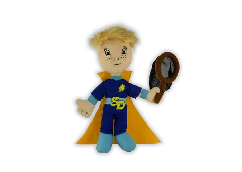 Sweetdreams Superhero boy plush doll