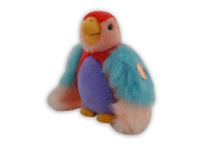 Wahlrich colorful parrot plush