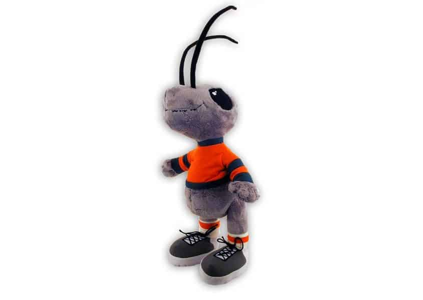 Arthur purple plush ant