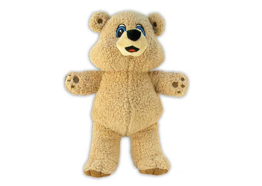Bear a Medic plush tan teddy bear
