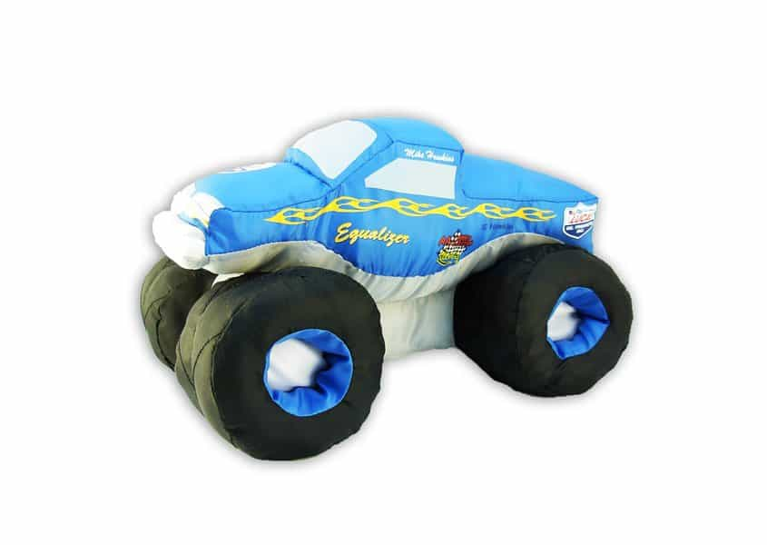 blue monster truck plush