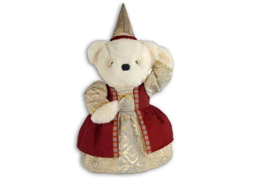Princess teddy bear plush toy