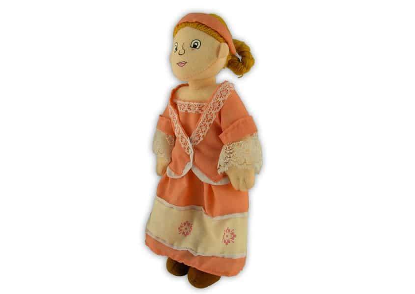 WFK girl doll plush