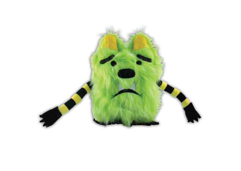green What If Monster plush toy