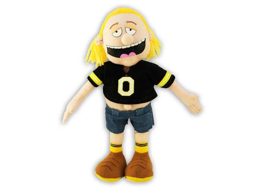 Yappin Sam doll plush