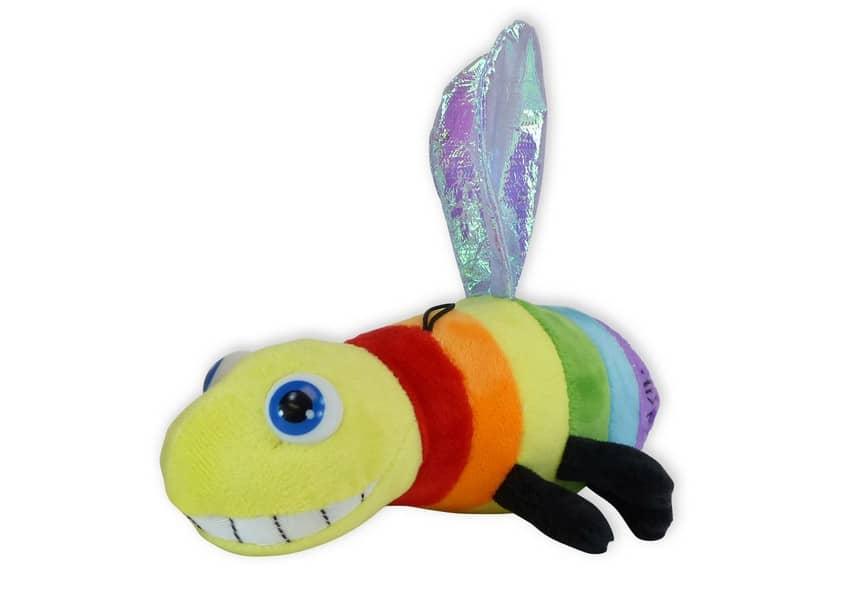 rainbow firefly plush