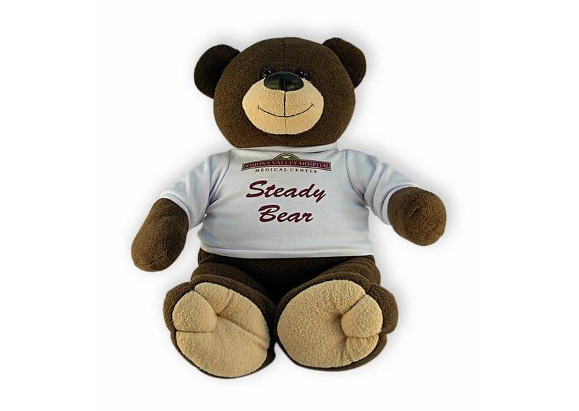 steady bear brown teddy bear