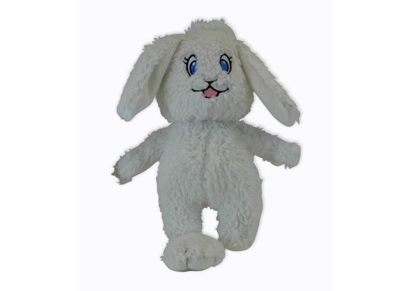 Bonnie the Bunny white rabbit plush