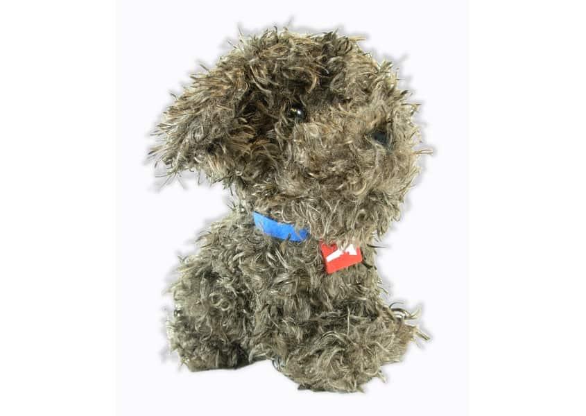 Progressive Dog furry dog plush